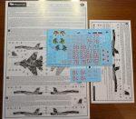 Сухой Су-33 МА ВМФ России в Сирии: 48-051: 1/48: Бегемот: Обзор декали