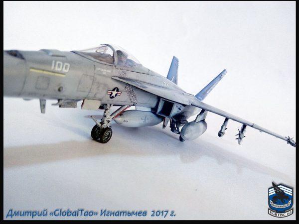 F/A-18E VFA-143 «Pukin Dogs»: 1/72: Academy