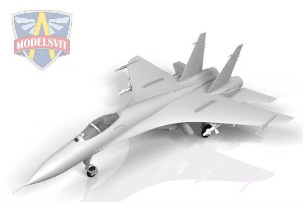 Т-10-10 (прототип Су-27): Modelsvit: Первые рендеры