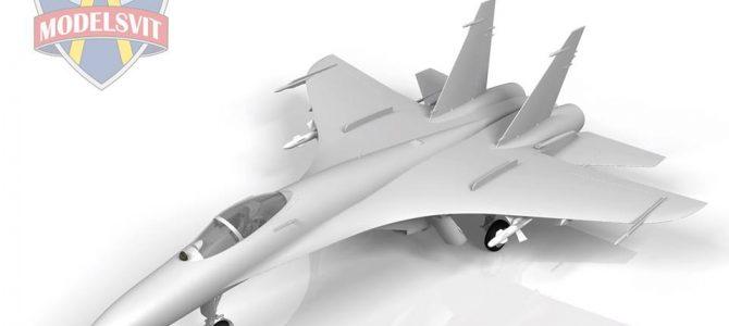 Т-10-10 (прототип Су-27): 1/72: Modelsvit: Первые рендеры