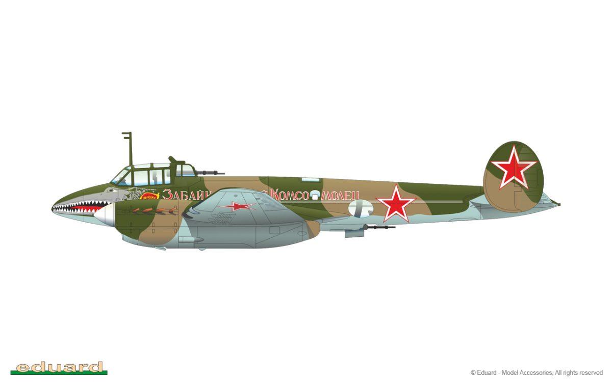 Pe-2FT Peshka: 11112: 1/48: Eduard
