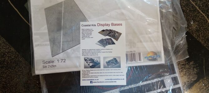 Готовые подставки под модели от Coastal kits