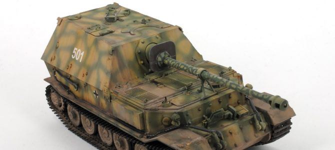 Истребитель танков «Фердинанд»: 3653: 1/35: Звезда: Тестовая сборка