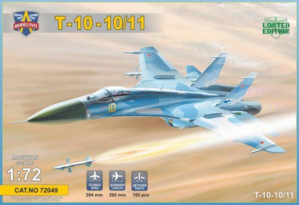 Т-10-10 (прототип Су-27): 72049: 1/72: Modelsvit