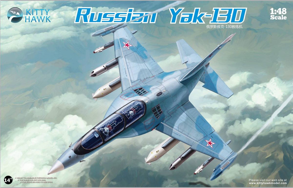 Russian Yak-130: KH80157: 1/48: Kitty Hawk