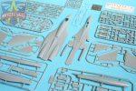 Т-10-10 (прототип Су-27): 72049: 1/72: Modelsvit: Тестовые отливки