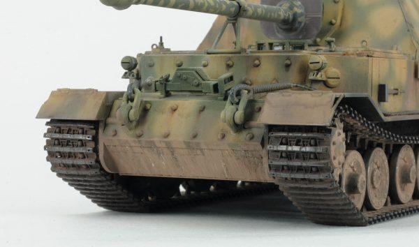 """Немецкий истребитель танков """"Фердинанд"""": 3653: 1/35: Звезда: Тестовая сборка"""
