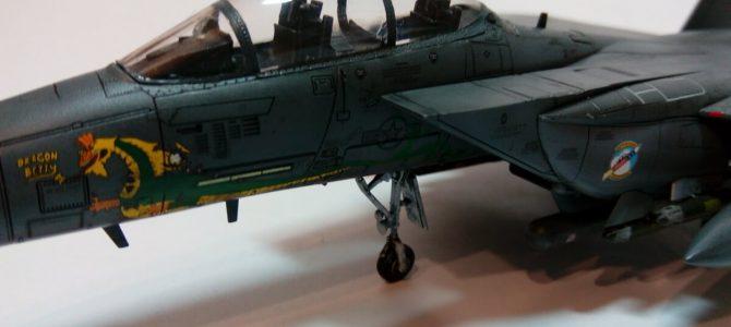 USAF F-15E Dragon Betty 2 336FTS Rocketeers: 12550: 1/72: Academy: Обзор стройки