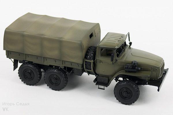 Армейский грузовик «Урал» 4320: 3654: 1/35: Звезда: Тестовая сборка