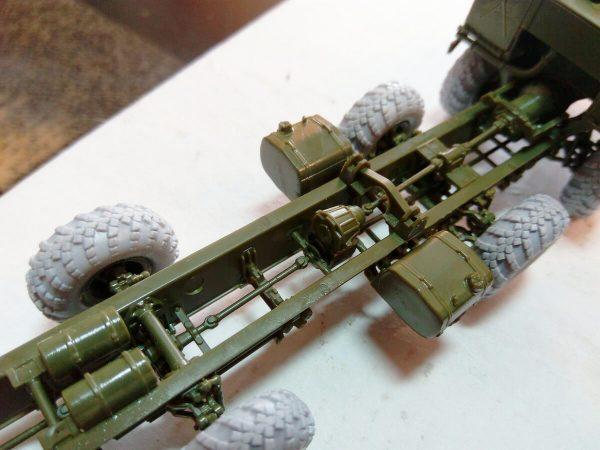 ОТРК «Искандер-М»: 5028: 1/72: Звезда: Сборка модели: Шаг 1