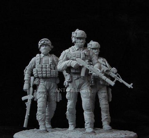 Специалисты ССО МО РФ в Сирии: 1/16: ANT-miniatures