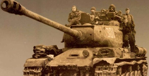 Тяжёлые танки ИС: Свирин М.
