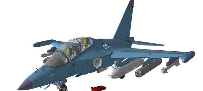 Учебно-боевой самолет Як-130: 1/48: Звезда: Первые рендеры