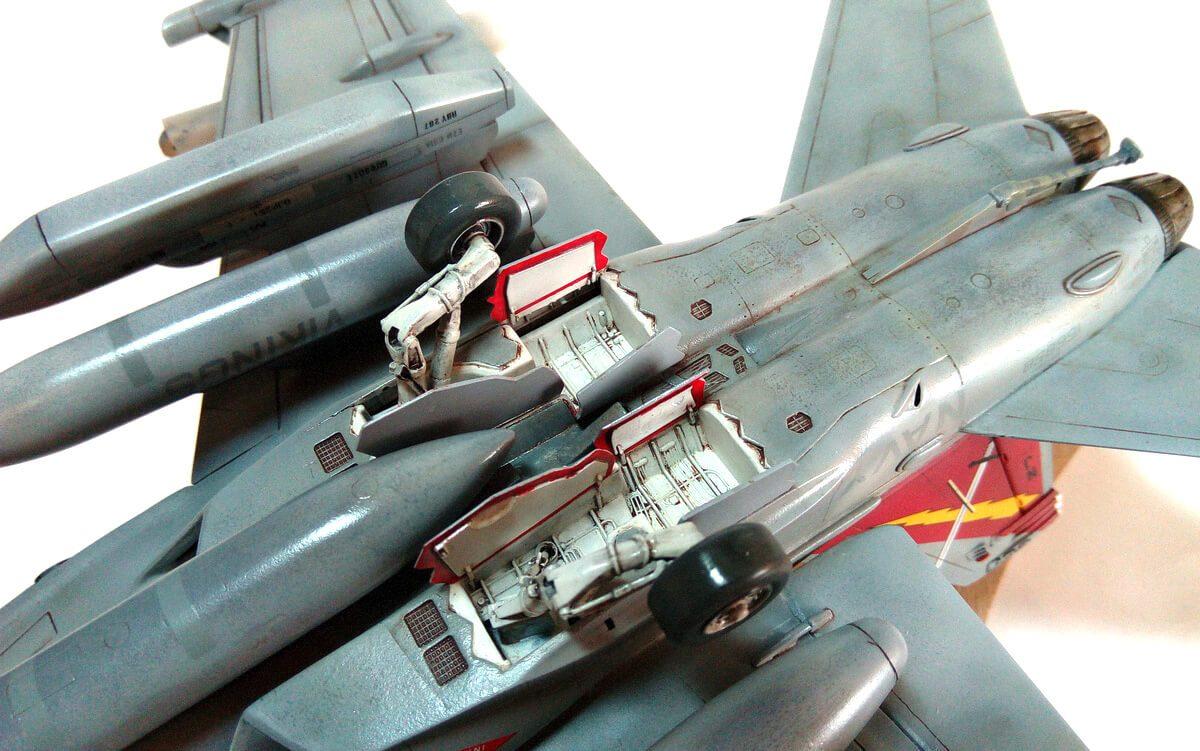 Boeing EA-18G Growler VAQ-129 Vikings: 2716: 1/48: Italeri: Обзор стройки