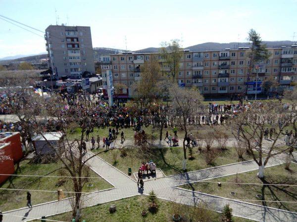 День Победы 2018 Большой Камень Приморский край