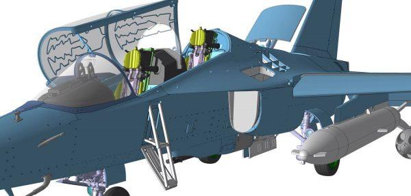 Учебно-боевой самолет Як-130: 1/48: Звезда