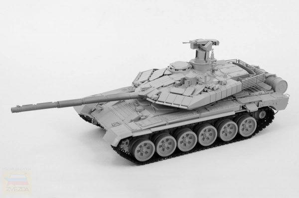 Российский ОБТ Т-90МС: 3675: 1/35: Звезда
