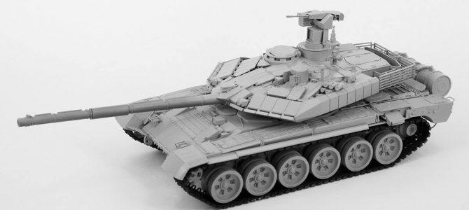 Российский ОБТ Т-90МС: 3675: 1/35: Звезда: Тестовая сборка