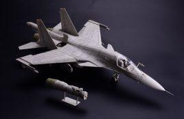 Фронтовой бомбардировщик Su-34 «Fullback»: 1/48: Kitty Hawk: Уже в мировой продаже