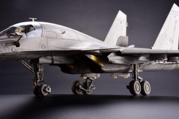 Фронтовой бомбардировщик Su-34 «Fullback»: 1/48: Kitty Hawk:
