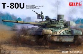 Russian MBT T-80U: 35001: 1/35: RPG Model: Скоро мировой релиз