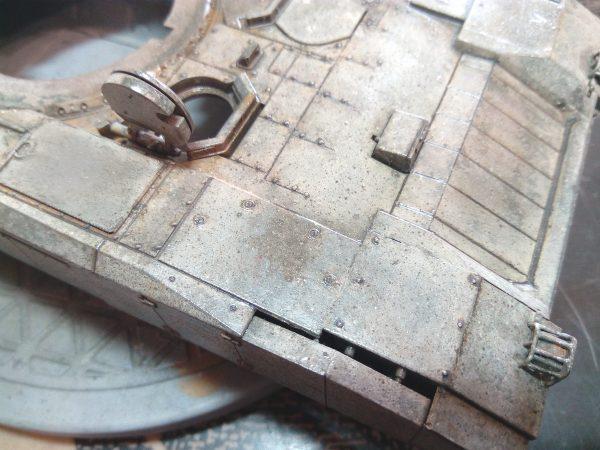 ОБТ Т-14 Армата, или Рабочие будни испытателя: 3670: 1/35: Звезда: Обзор стройки