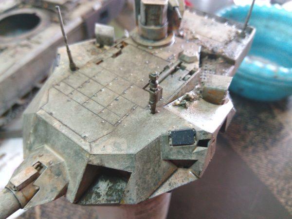 ОБТ Т-14 Армата, или Будни испытателя: 3670: 1/35: Звезда: Обзор стройки