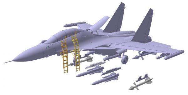 Многоцелевой истребитель Су-30СМ: 1/72: Звезда: Первые рендеры