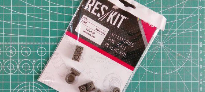 Набор смоляных колёс для Як-130: RS48-0093: 1/48: Reskit: Обзор комплекта