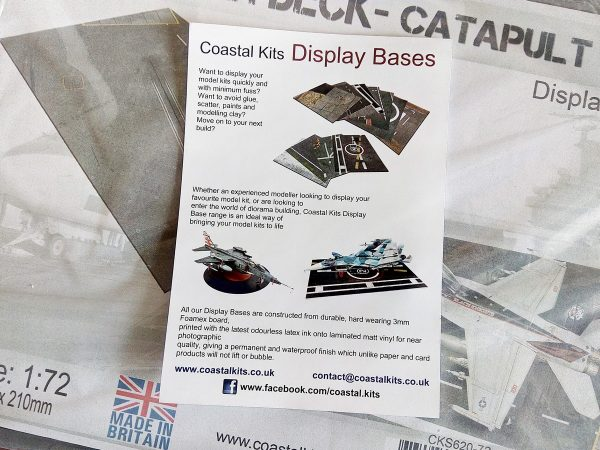 Display bases Coastal kits
