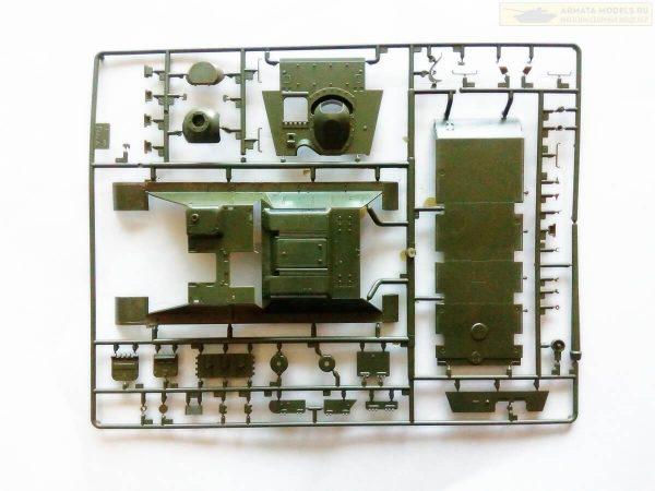 Советский истребитель танков Су-85: 3690: 1/35: Звезда: Обзор коробки