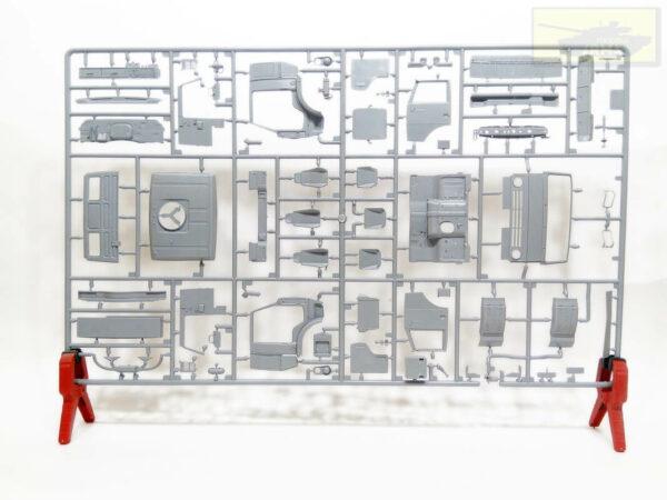 """Российский трехосный грузовик К-5350 """"Мустанг"""": 3697: 1/35: Звезда: Обзор коробки"""
