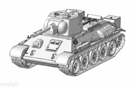 Советский средний танк Т-34/76: 3686: 1/35: Звезда: Первые рендеры
