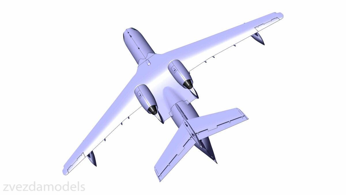 Российский самолет-амфибия Бе-200: 7034: 1/144: Звезда: Первые рендеры