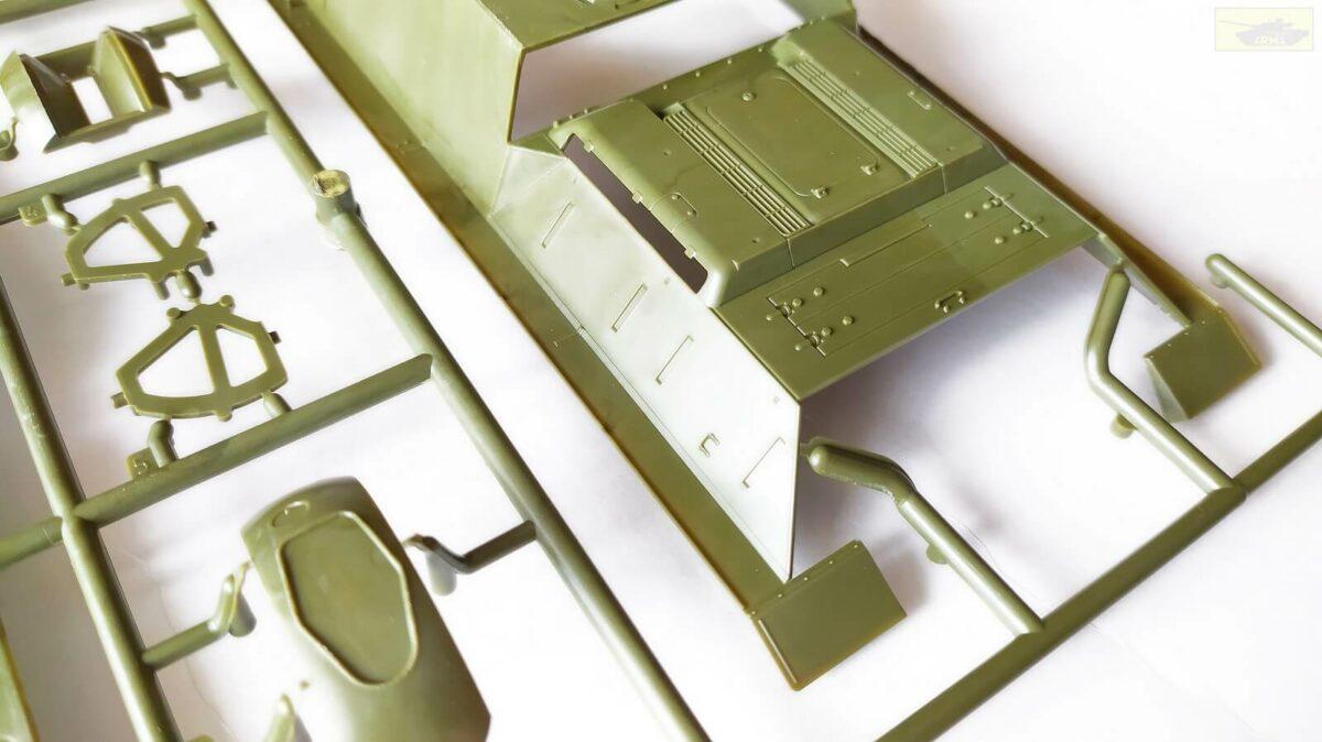 Советский истребитель танков Су-122: 3691: 1/35: Звезда: Обзор коробки