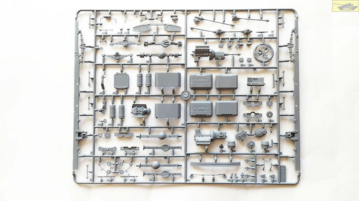 Советский пожарный автомобиль АЦ-40-137А: 35519: 1/35: ICM: Обзор коробки
