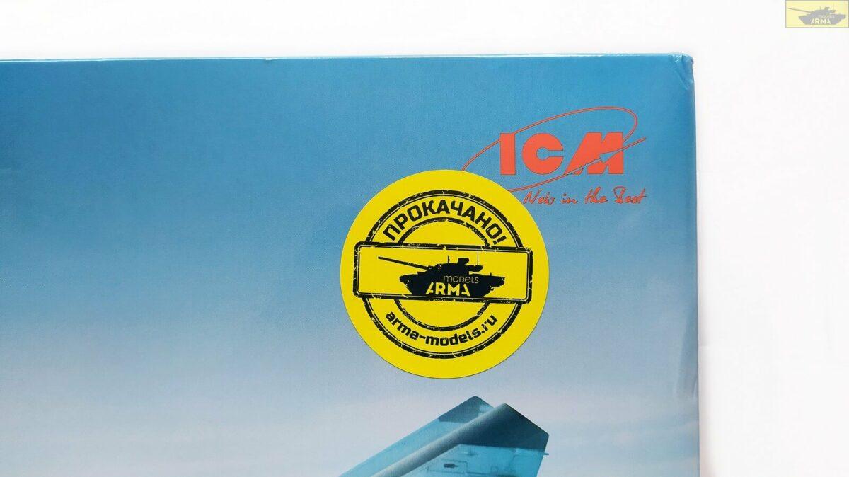 Советский истребитель-перехватчик Миг-25ПД: 72177: 1/72: ICM: Обзор коробки