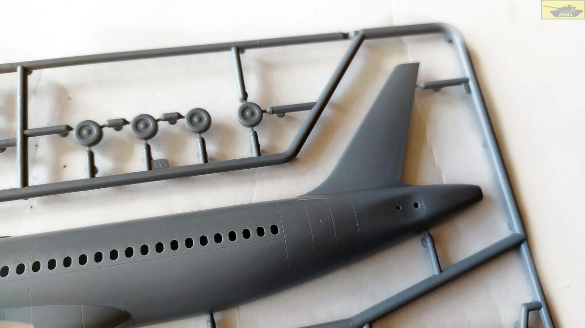 Пассажирский авиалайнер Аэробус A320neo: 7037: 1/144: Звезда: Обзор коробки